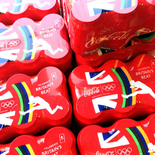 Coca Cola London Olympics2012 The Dieline #packaging #brand