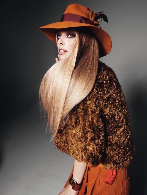 Fashion photography(Tanya Dziahileva in Elle Sweden, viamodels go see #fashion #photography