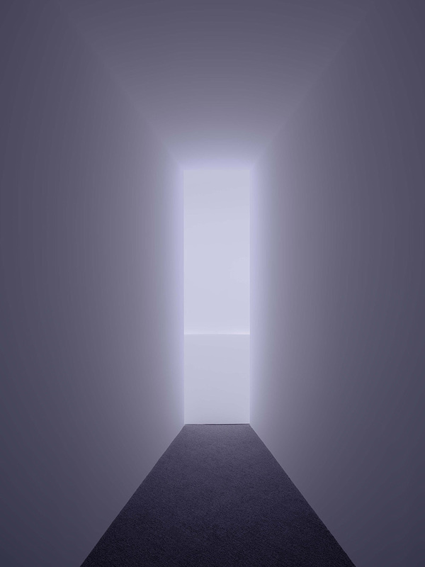 doug wheeler casts a light lanscape that mimics an unreachable horizon designboom 05 #horizon