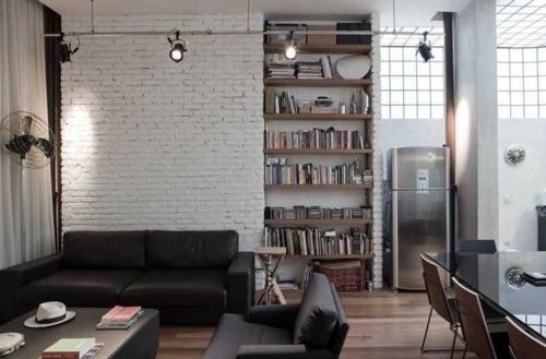 Modern in Sao Paulo - The Black Workshop #interior #design #decoration #deco