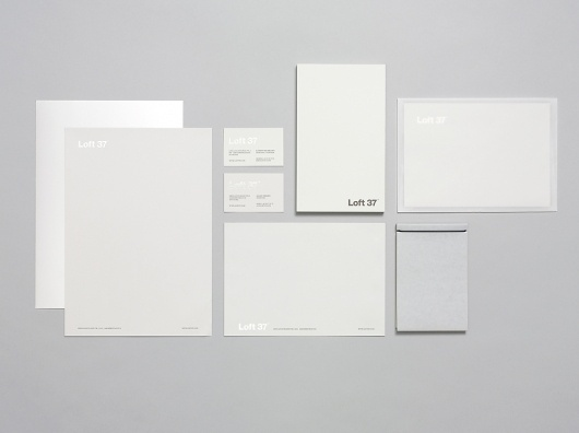 Loft 37 Visual Identity #visual #business #identity #collateral #stationery