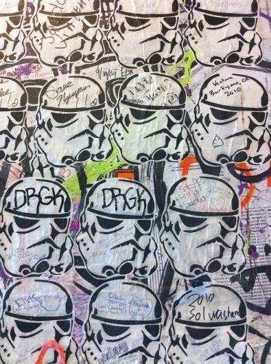 All sizes | Market Grafitti | Flickr - Photo Sharing! #grafitti #starwars #paste #wheat