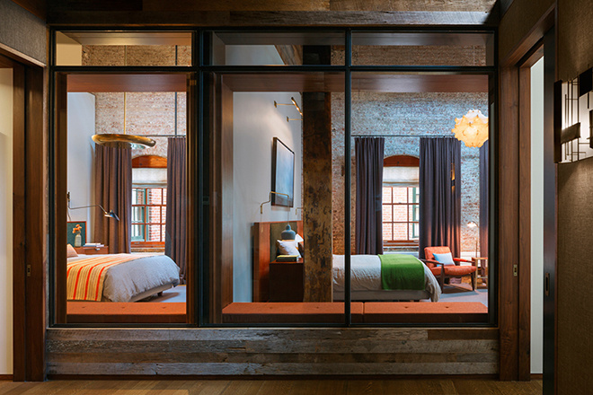 old soap factory converted into a loft [ tribeca, NYC ] by HUH