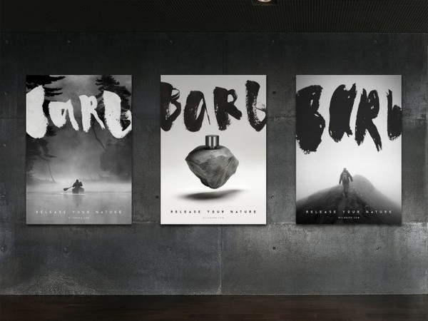 Barb Perfume Packaging4 #design #graphic #identity #poster #barb