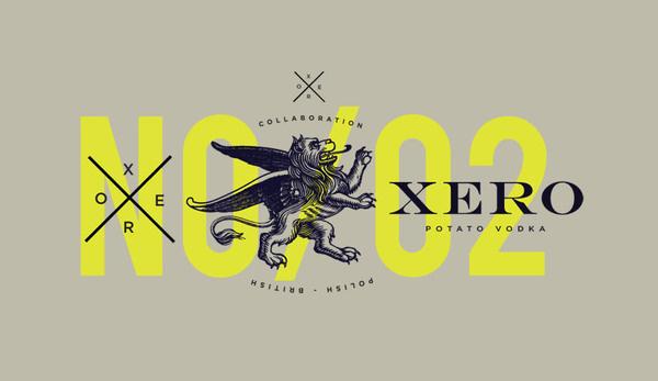 Project 53 Xero Vodka #packaging #brand #identity #vodka #logo