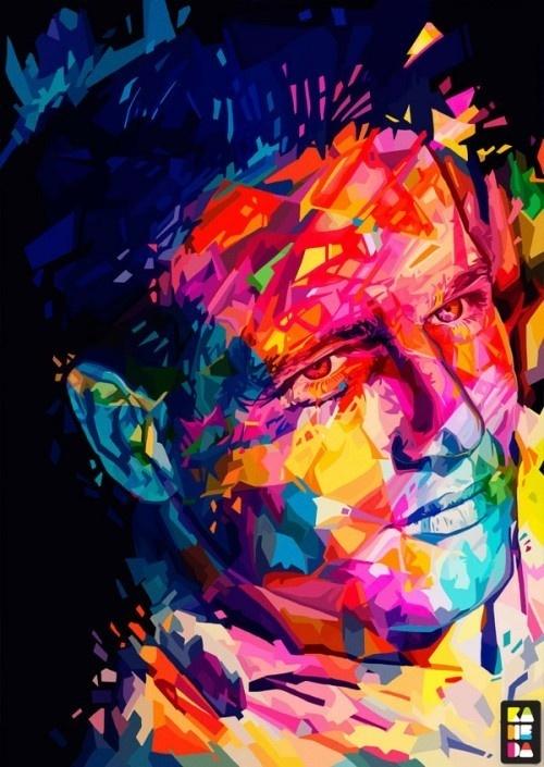 Digital Portrait by Alessandro Pautasso #pautasso #a #designer #in #illustrator #based #graphic #is #turin #alessand #and #alessandro #italy #photographer