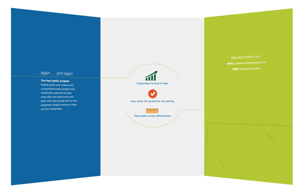 Swipely Small Tri-Fold Presentation Folder #fold #folders #presentation #tri #mall #folder