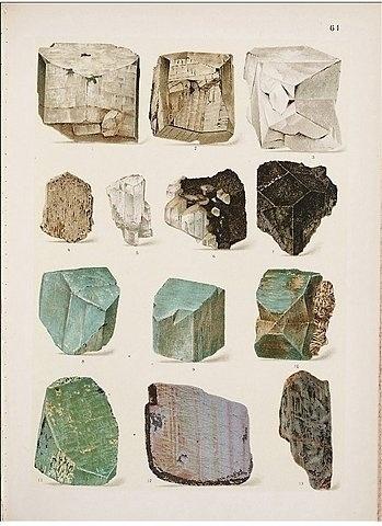 rocks.jpg (349×480) #stones #rocks #crystals #illustrations