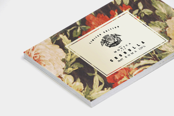 MONICA on Behance #stationary #business #card #floral #label