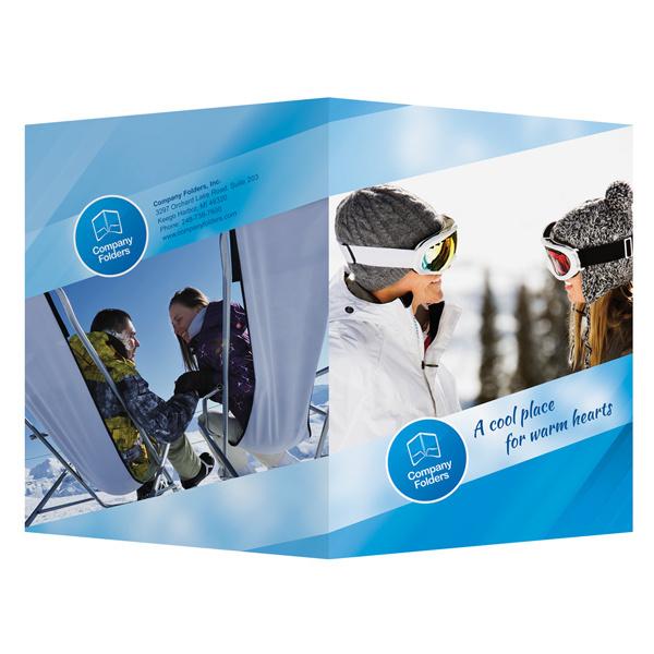 best folder ski resort template design images on designspiration, Presentation templates