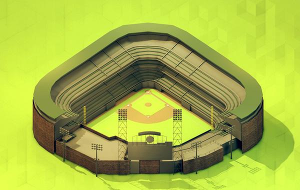 Isometrics #baseball #turnis #green