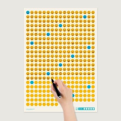 howwasyourdaycalendar1.jpg (JPEG Image, 500x500 pixels) #calender #simplicity #print #poster #mood