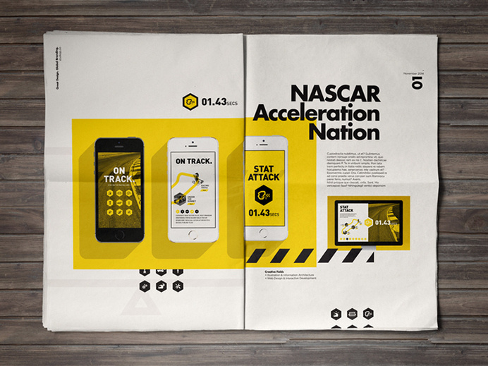 Behance :: STUDIOJQ 2014 // Brand refresh & Portfolio Development by STUDIOJQ ™ #newsprint #layout #mobile #portfolio