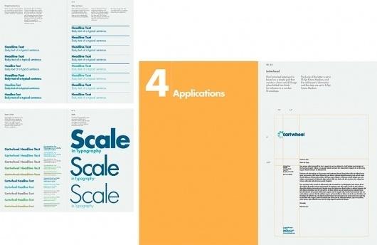 Cartwheel #branding #guide #guidelines #corporate #style
