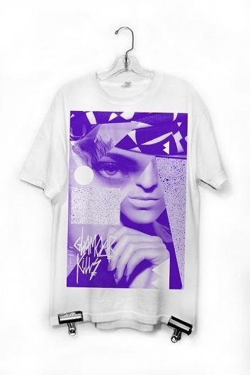 All sizes | glamour kills_A | Flickr - Photo Sharing! #glamour #tshirt #eye #ashburn #purple #fashion #collage #ronald