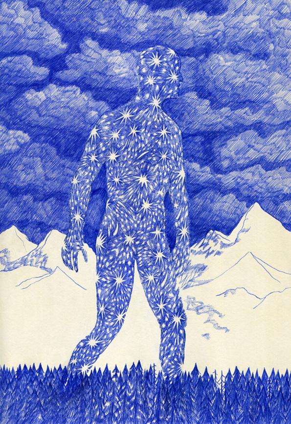 kevin-lucbert #biro #illustration #pen #art