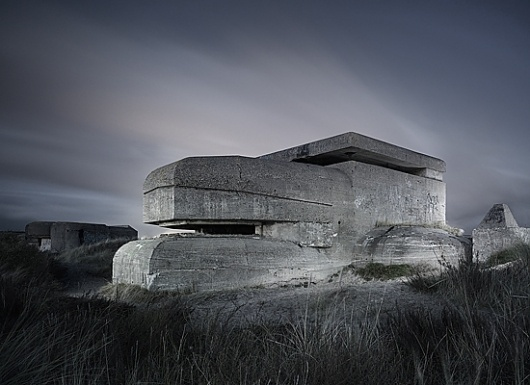 Abandoned WW2 fortifications. on Photography Served #concrete #war #world #ii #photography