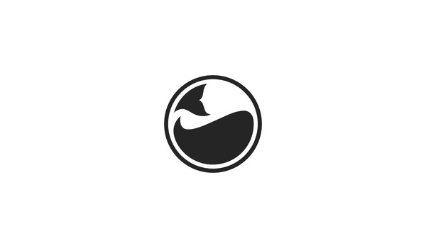 Elevn Co. / Whale Lifestyle Website #mark #ocean #circle #globe #whale #minimalism #clean #simple #symbol #logo #circular