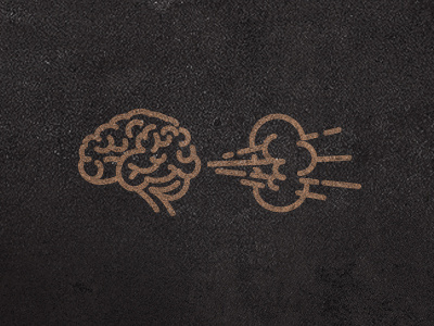 Brain_fart #vector #line #fart #brain #art
