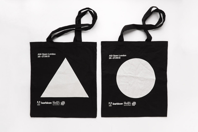 Tote bags. #bag #tote #frame #white #agi #totes #print #design #graphic #black #screen #triangle #poster #open #circle #modernist #typography