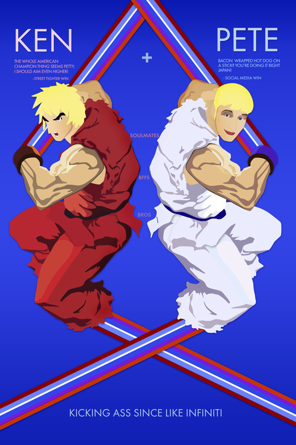 Street Fighter - For Fun #icon #fighter #illustration #street #game #character #8bit