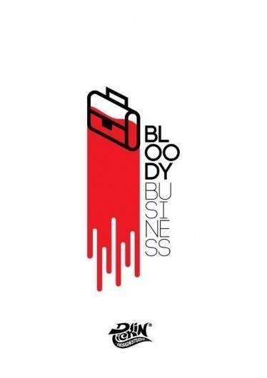 Bloody business #blood #pickin #business #work