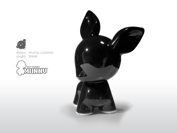 Diploo Studio Munny Customs #diploo #kidrobot #munny #made #ceramic #hand #toy #customs