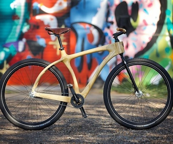 Woody Cruiser From Connor Wood Bicycles #bicycl #wood #gadget #bike
