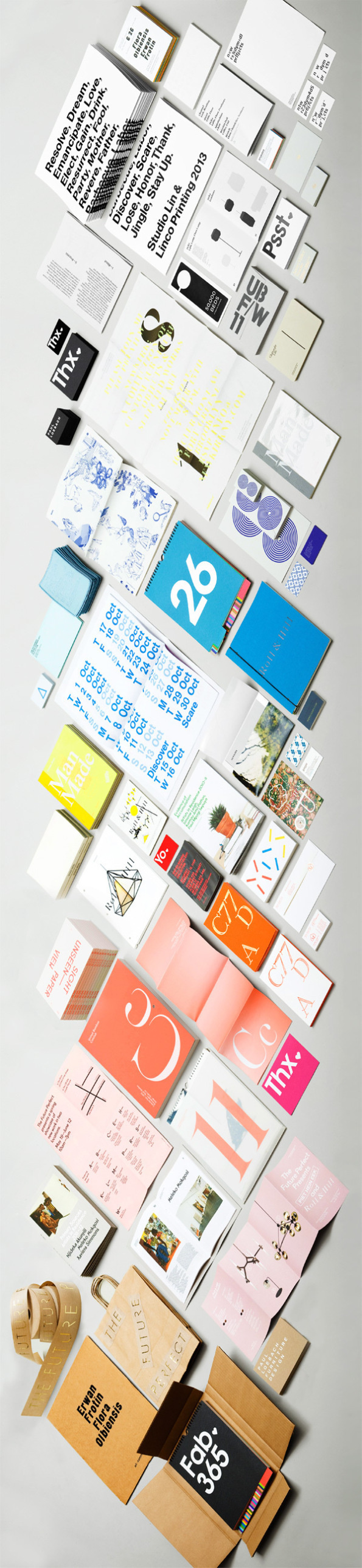 print design #print #design #color #collateral #stationery #type #paper #organized #typography