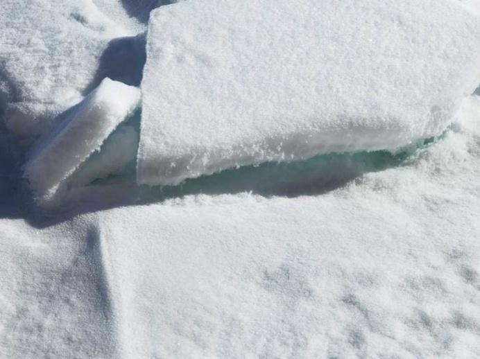 Broken Melody, Ice Pack, Arctic Ocean, 84 degrees N