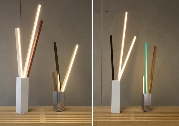 RUX design: stickbulb lamp #lamp