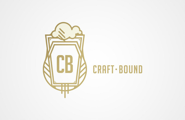 Nathen Cantwell #mark #beer #bound #craft #gold #logo #cantwell