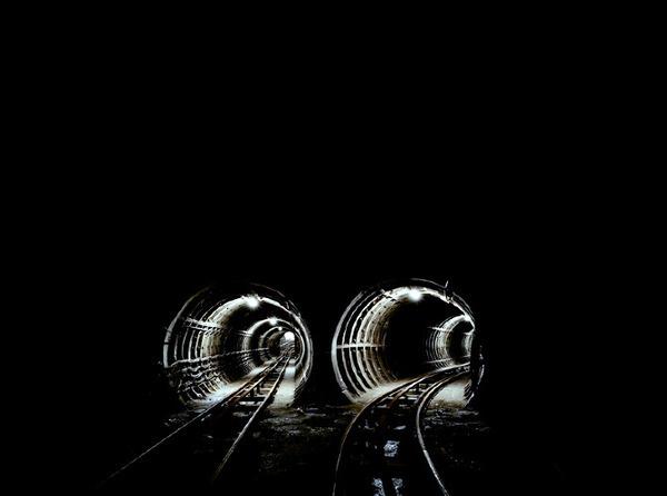 Dark Space Brendan Austin #photography #sweden #uk #tunnels