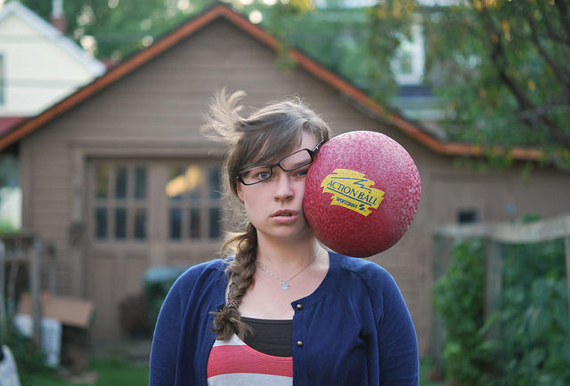 Kaija's painfully funny self-portraits #self #painful #photography #portrait
