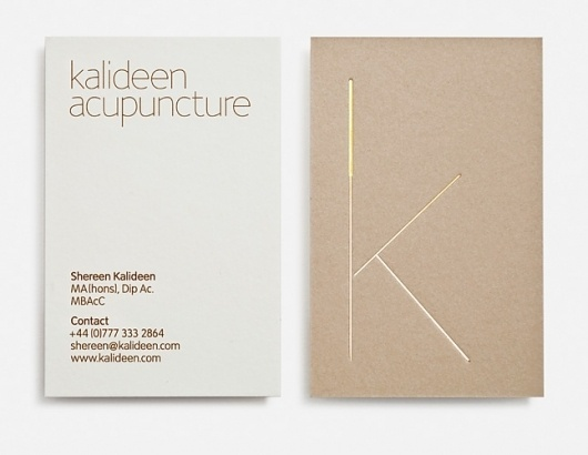 Magpie Studio #business #card #design #graphic #identity #acupuncture