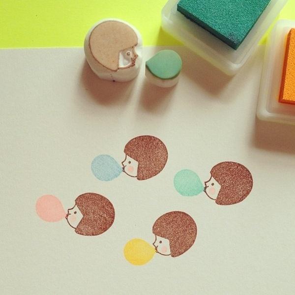 DIY #Stamps #zelfmaken #stempel