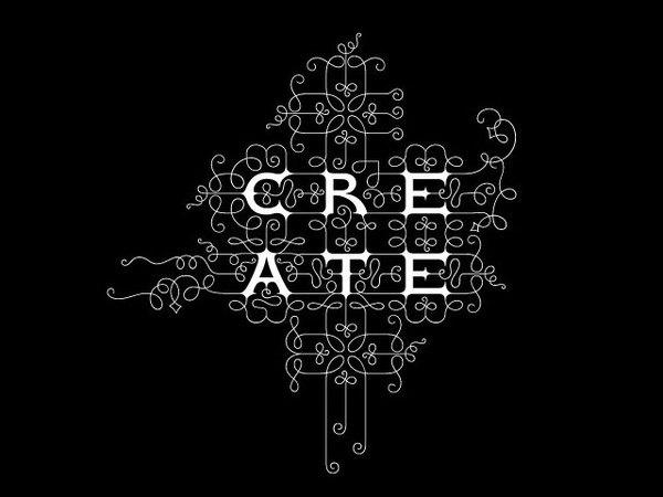 marian bantjes #pattern #black #ornament #ornamental #type #typography
