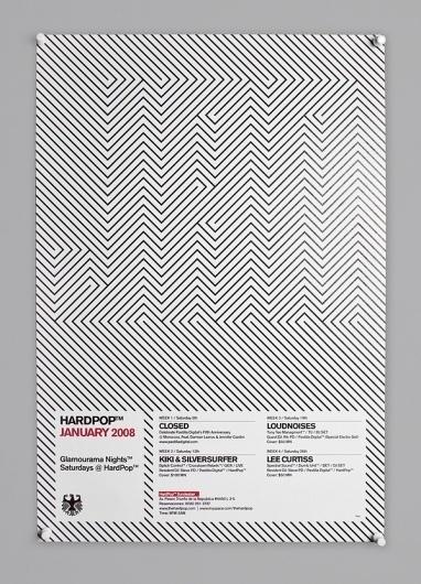 HardPop on the Behance Network — Designspiration #pattern