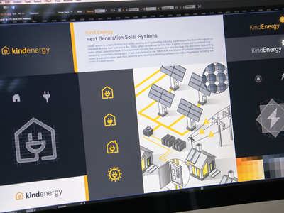 Logo and Visual Style #logo #logodesign #branding #energy #green #ecology #brandbook #design #logotype #symbol #sign