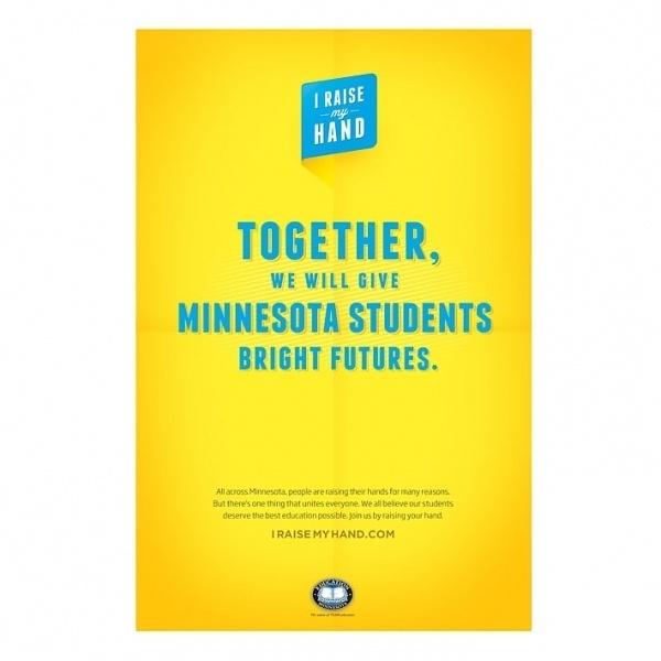 Education Minnesota – // The Studio of Ken Zakovich // #bright #print #education