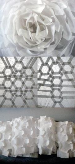 พับ พับ พับ #origami #tessellation