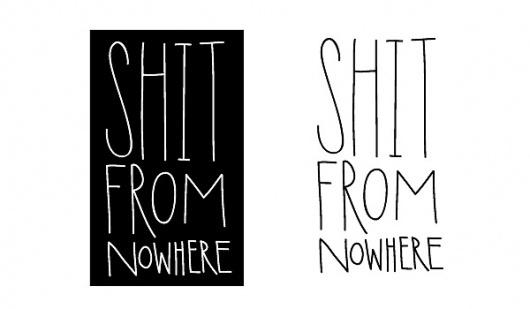 it's me nick v! #logo #zine #typography