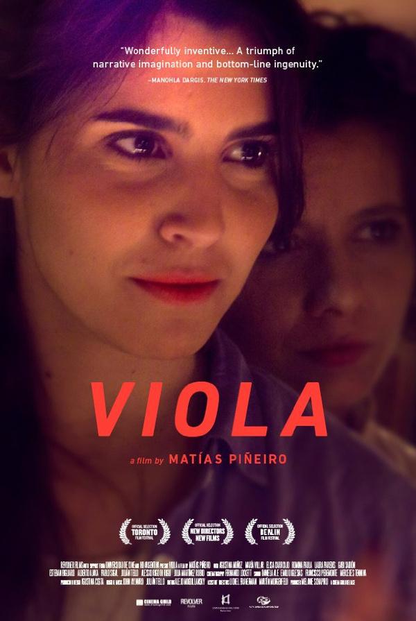 Matías Piñeiro's VIOLA #movie #tim #poster #film