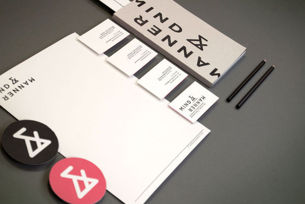 Mind and Manner | Branding and Creative #business #branding #stationary #card #print #mind #manner #photography #and #logo #letterhead #typography