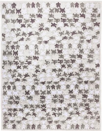 Tutte le dimensioni  Happy Carpets - Bongo Dance, gray   Flickr – Condivisione di foto! #product #carpet #craftsmanship #cibicworkshop #rug