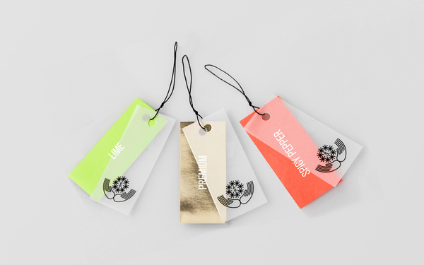 Anagrama | Salvatierra #packaging #tags #hang
