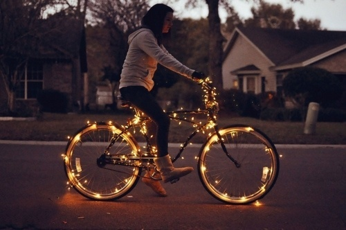 Sweeter Then Heaven #bicycle #lights #bike