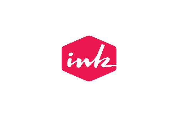 Logos #pink #logo #ink #logotype