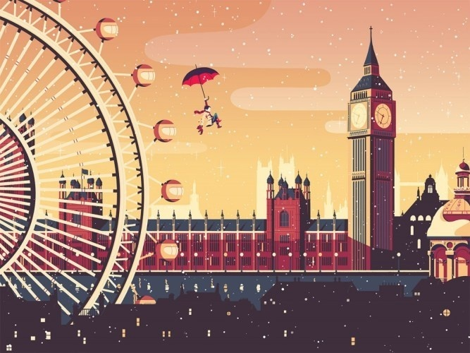 FormFiftyFive – Design inspiration from around the world #london #illustration #winter