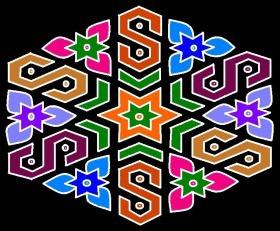 Colorful Rangoli Ideas